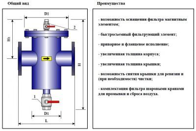 Фильтр-грязевик ФГ(ФГМ)-50
