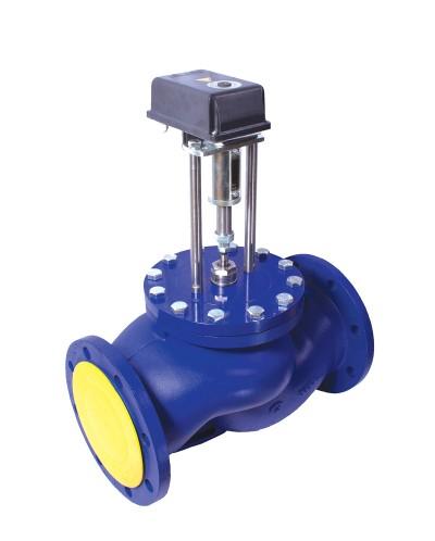 Клапан двухходовой седельный запорно-регулирующий ВКСР Ду 15